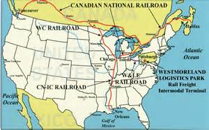 canada rail network map railroads westmoreland county pa official website
