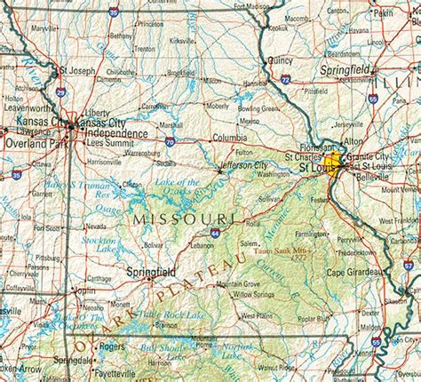 missouri state map only pictures missouri state map
