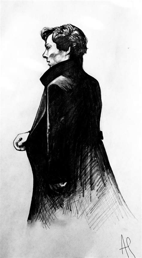Pin by jasmine white on sherlock♥♡ | Sherlock drawing