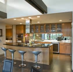 Open Kitchen Islands open concept modern kitchen design with large island