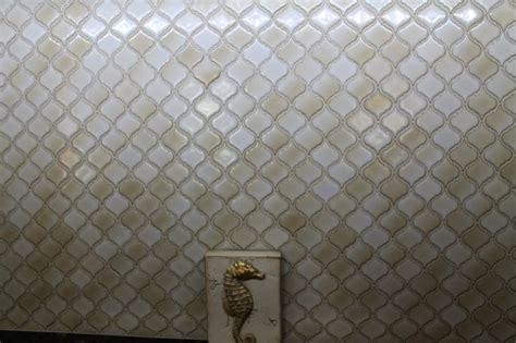 Backsplash Designs For Kitchen Backsplash Of Quot Lantern Quot Ceramic Tile Jfe Kitchen Amp Bath