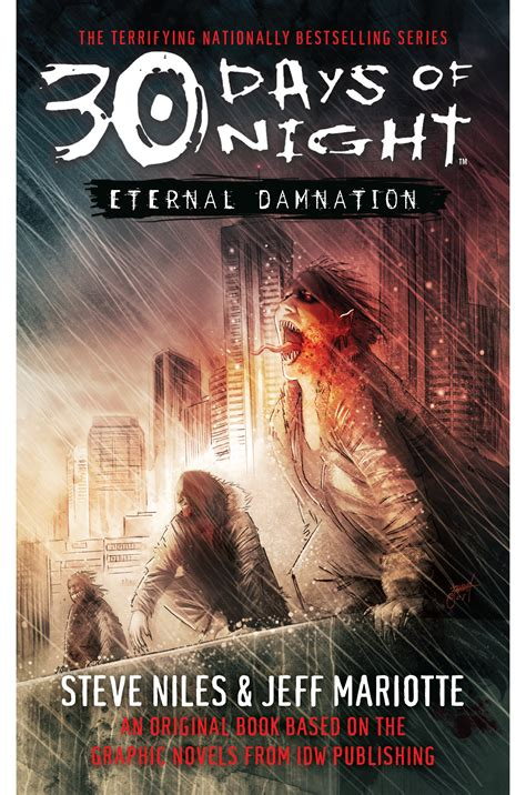 30 days of books 30 days of eternal damnation book by steve niles