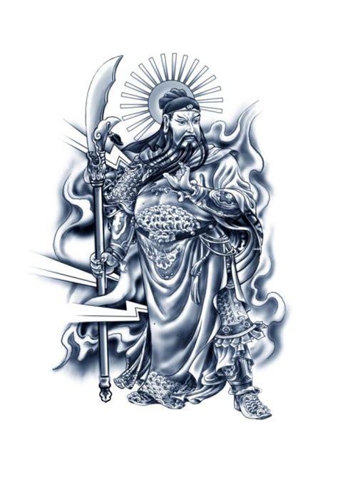 guan yu tattoo wei shen s guan yu from sleeping dogs guan yu