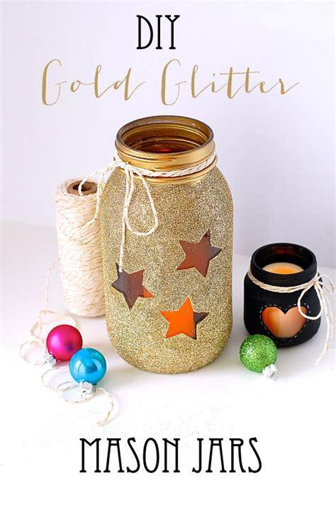 diy gold glitter jars diy gold glitter jars weddings lajla