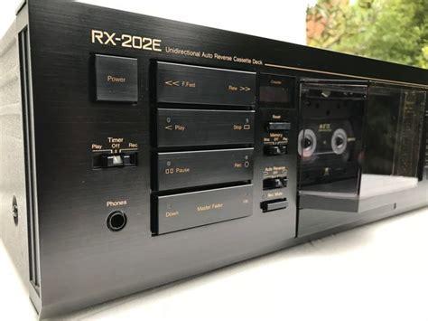 nakamichi cassette deck nakamichi rx 202e auto cassette deck catawiki