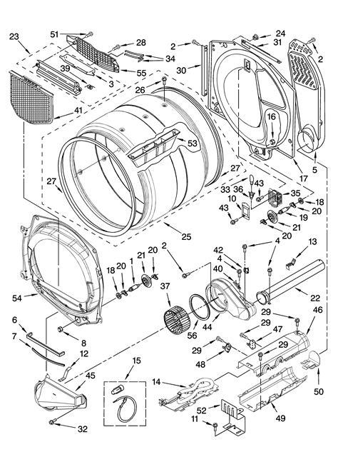clothes dryer parts diagram i a kenmore he2 clothes dryer i push power set the