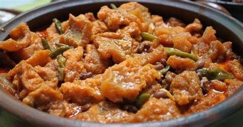 Krecek Rambak Sapi Khas Tulungagung resep sambal goreng krecek khas jogjakarta