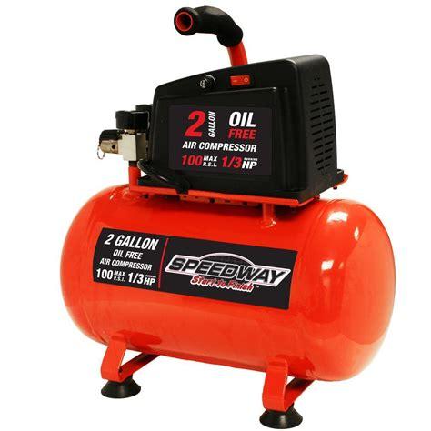 speedway 2 gal free air compressor 7517 the home depot