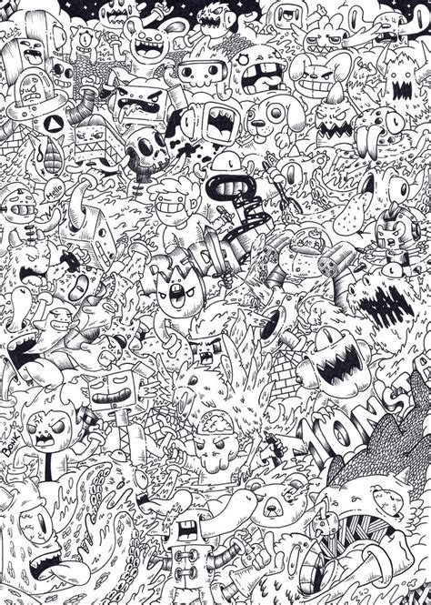 doodle how to create chaos doodle monsta by redstar94 on deviantart
