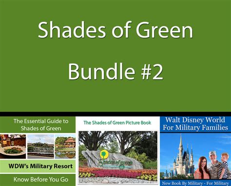 the essential guide to shades of green 2018 your guide to walt disney world s resort books essential guide to shades of green bundle 2