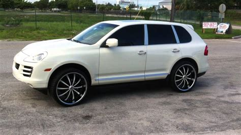 porsche cayenne rims dubsandtires 24 lexani lx 10 custom painted wheels