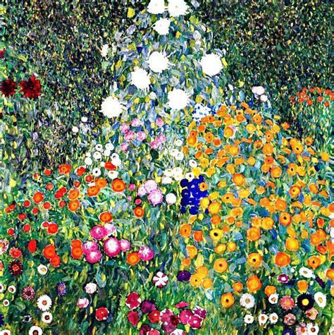 gustav klimt flower garden gustav klimt flower garden 1907