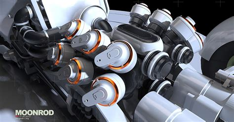 Acrysion N 38 Steel Cat Kuas Gundam Mr Hobby N38 v moonrod wip engine pedals