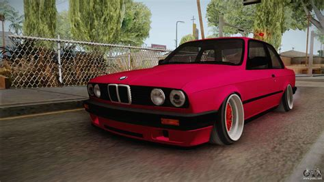 bmw e30 stanced bmw 325i e30 stance for gta san andreas