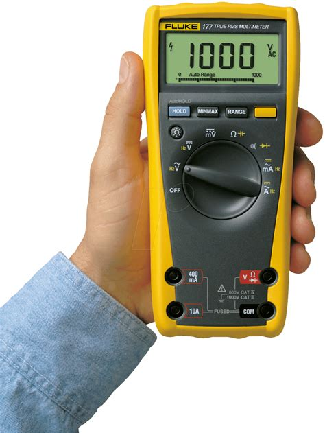 Daftar Multimeter Digital Fluke fluke 177 fluke 177 universal digital multimeter at