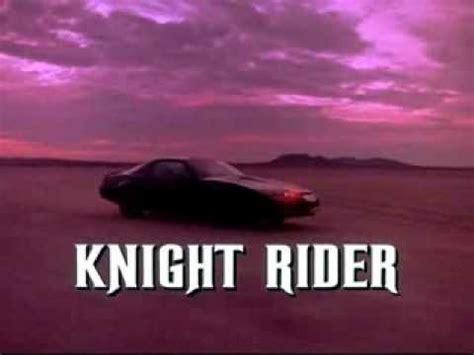theme music knight rider knight rider theme song piano youtube