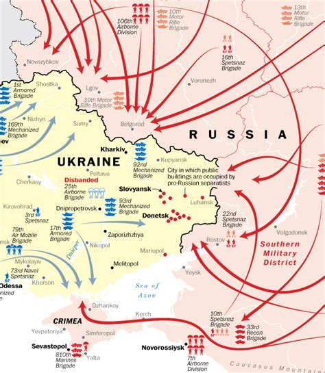 map ukraine and russia the russia ukraine conflict explained in maps