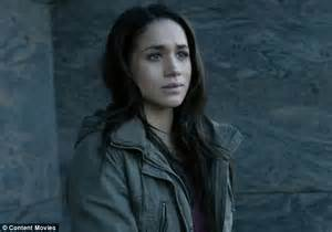 prince harry s girlfriend meghan markle gets special prince harry s girlfriend meghan markle in new trailer for