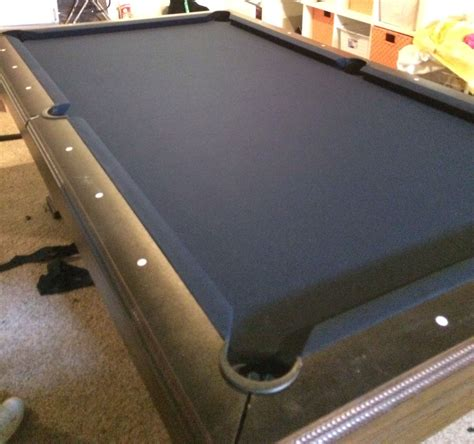 montgomery ward pool table installing cloth to slate