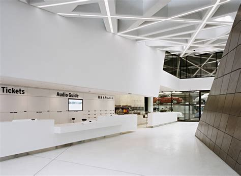 delugan meissl porsche museum porsche museum delugan meissl associated architects