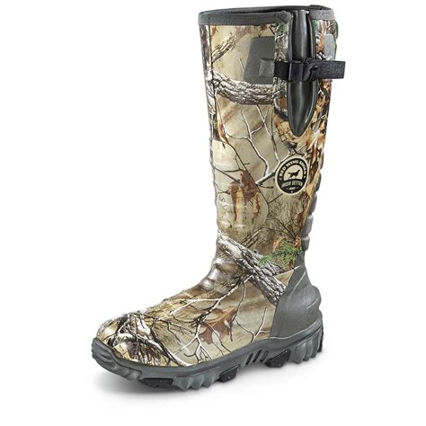 rubber boots hunting irish setter rutmaster 2 0 men s insulated rubber hunting
