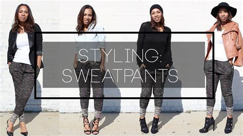 How To Style Your Wardrobe by 4 Ways To Style Sweatpants The Way To Hart
