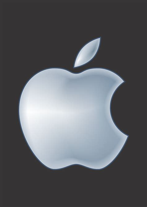 apple logo vector apple logo vector with gradient color technology