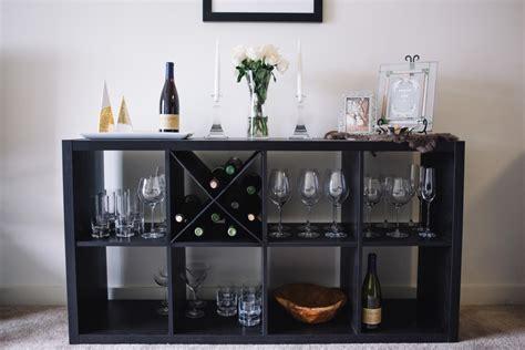 kallax wine rack picture of diy kallax wine rack