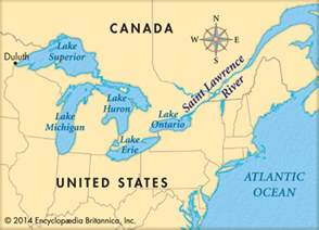 map of canada st river st river map map3