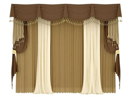 brown swag curtains 17 various types of valances to accentuate your curtains