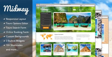 Exploore V3 1 0 Tour Booking Travel Theme themeforest midway v3 8 responsive travel wp theme