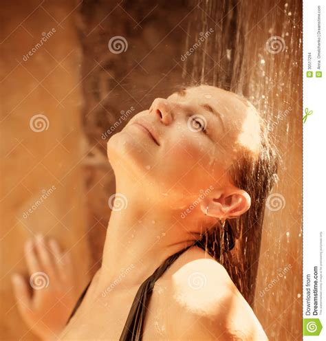 After Taking A Shower by Taking Shower Stock Images Image 30517294