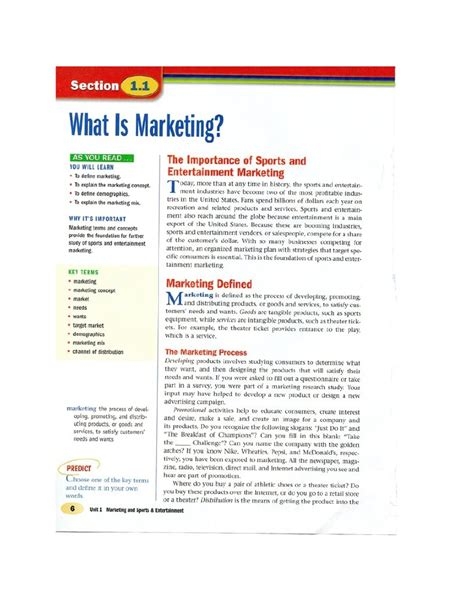 Sports Marketing 1 sports marketing chapter 1