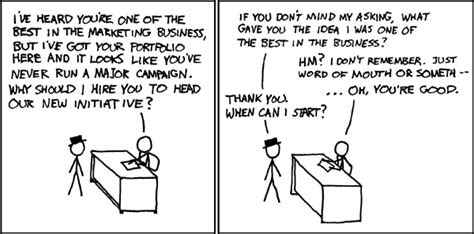 xkcd my business idea xkcd marketing interview