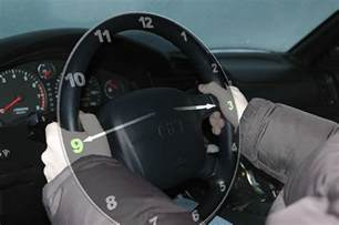 Steering Wheel To Turn When Driving Driving Safely How Why To Hold And To Not Hold Your