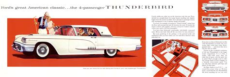 free car manuals to download 1958 ford thunderbird electronic throttle control 1958 ford thunderbird brochure