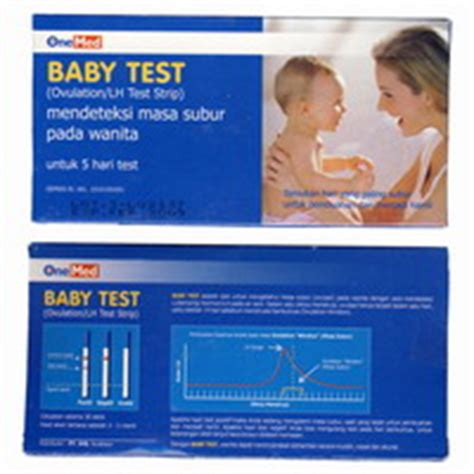 Baby Test Onemed Alat Tes Masa Subur jual alat tes kesuburan wanita baby test ovutest scope
