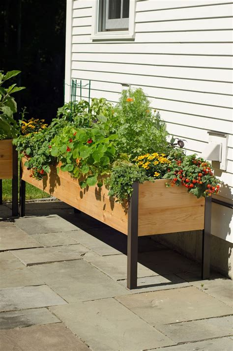Free Standing Planter Boxes by 1000 Ideas About Planter Boxes On Diy