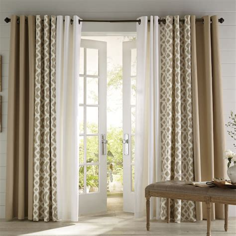 door windows modern window curtain design ideas window make the most of your living room and dining room combo