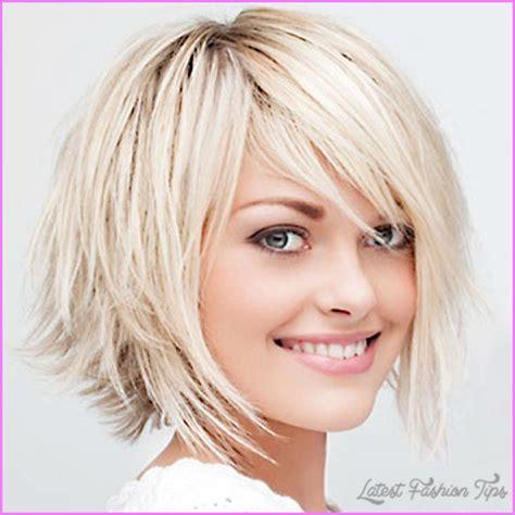 choppy bob haircut for thin hair womens medium haircuts for fine hair latestfashiontips com