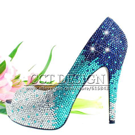 Sandal Sepatu Wanita Murah Platform Navy Blue Biru 002 1 buy grosir biru partai sepatu from china biru partai sepatu penjual aliexpress