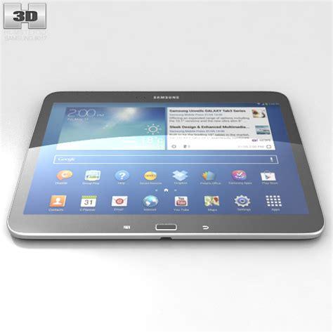 Samsung Tab 3 10 1 Inci Samsung Galaxy Tab 3 10 1 Inch Black 3d Model Humster3d
