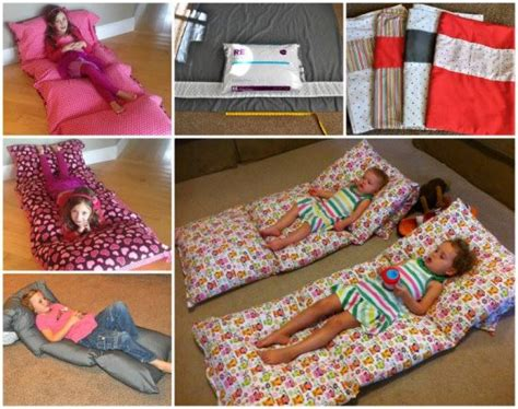 pillow bed for kids diy floor pillow bed easy to follow video instructions