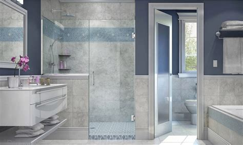 How To Clean Shower Glass Doors 5 Tips To Keeping Your Shower Doors Sparkly Clean Overstock