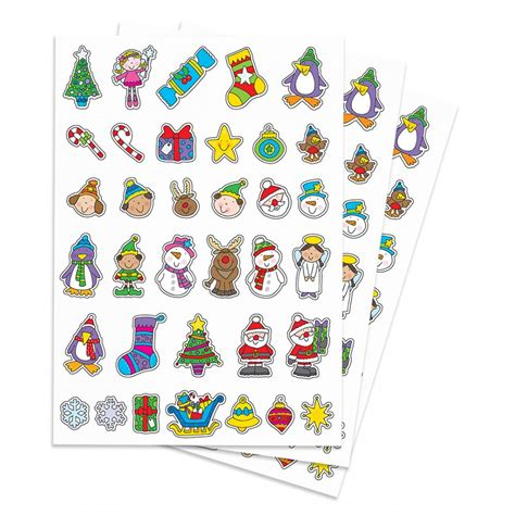 Craft Paper Stickers - paper stickers festive stickers