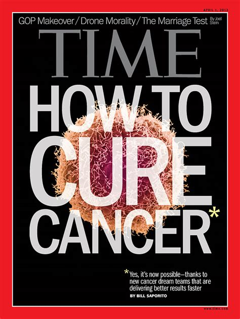 cell wars an history of cancer today books time magazine cover how to cure cancer apr 1 2013