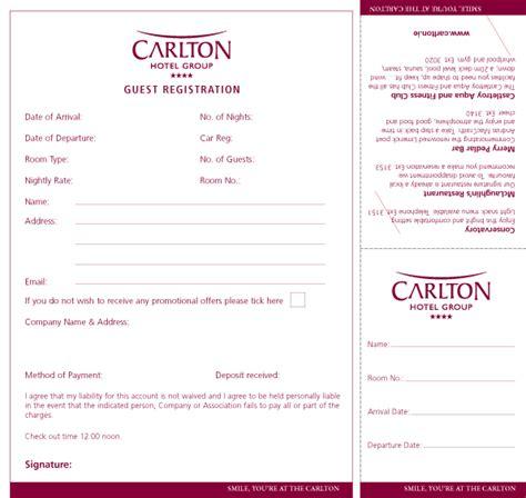Hotel Registration Card Racks by Flyers Limerick Printing