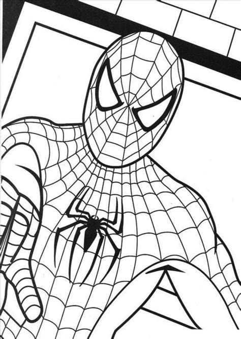 lego spiderman coloring pages coloring home