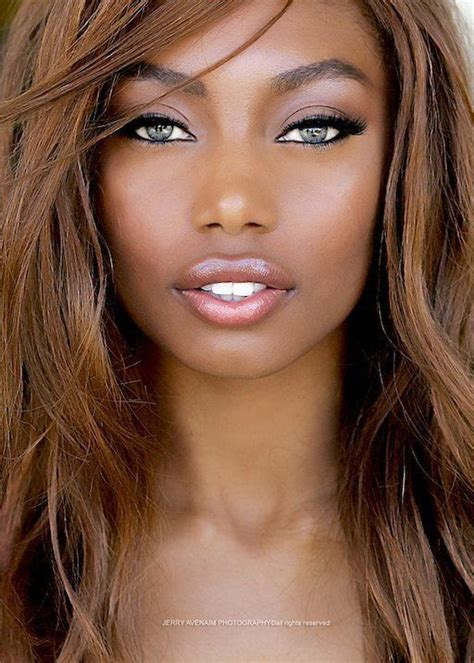 type of hair style tan skin 25 beautiful hair colors for brown skin ideas on