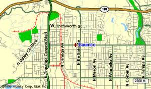chatsworth california map baumco products r h bauman co
